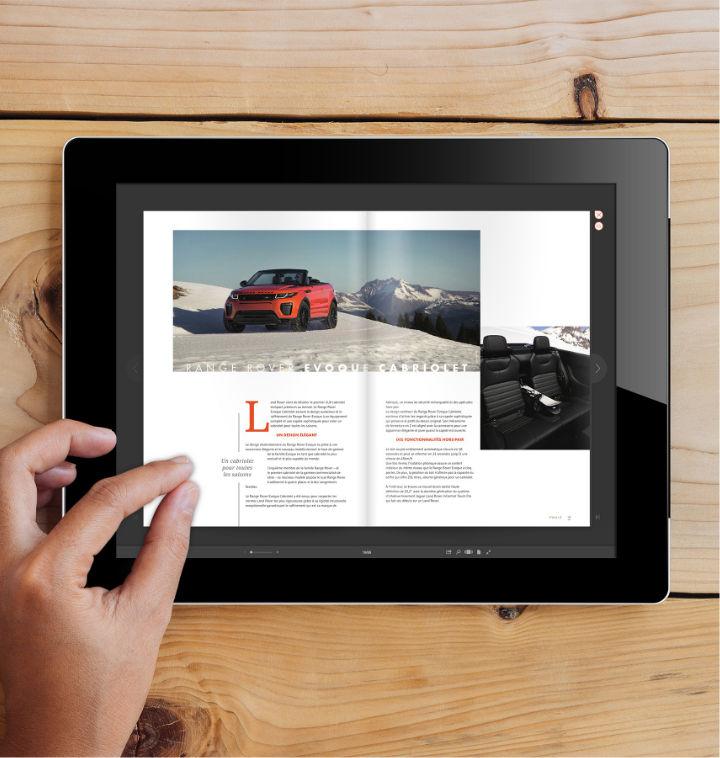 Un magazine interactif