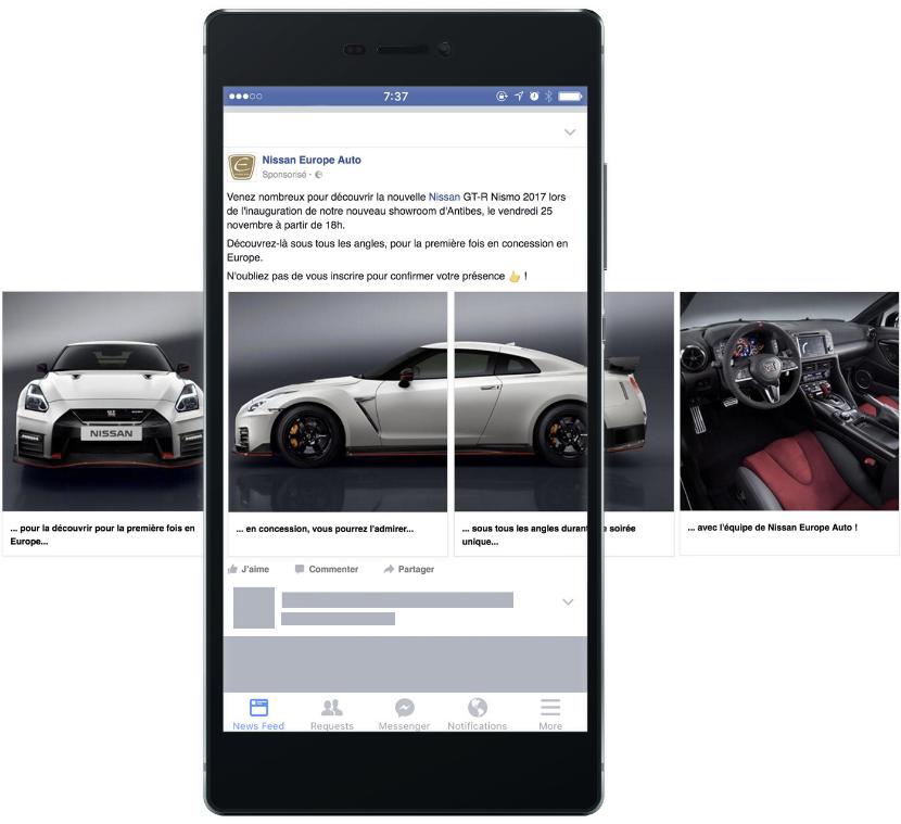 Création et optimisation de campagnes Facebook Ads