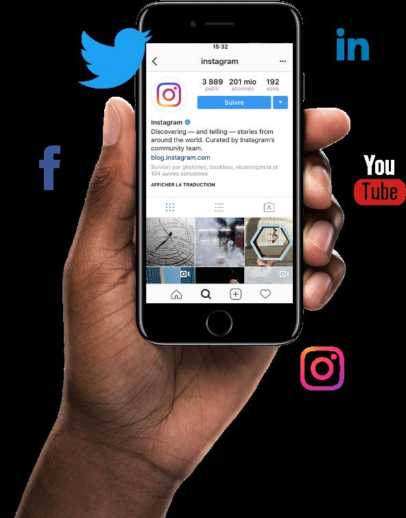 Marketing sur les réseaux sociaux
