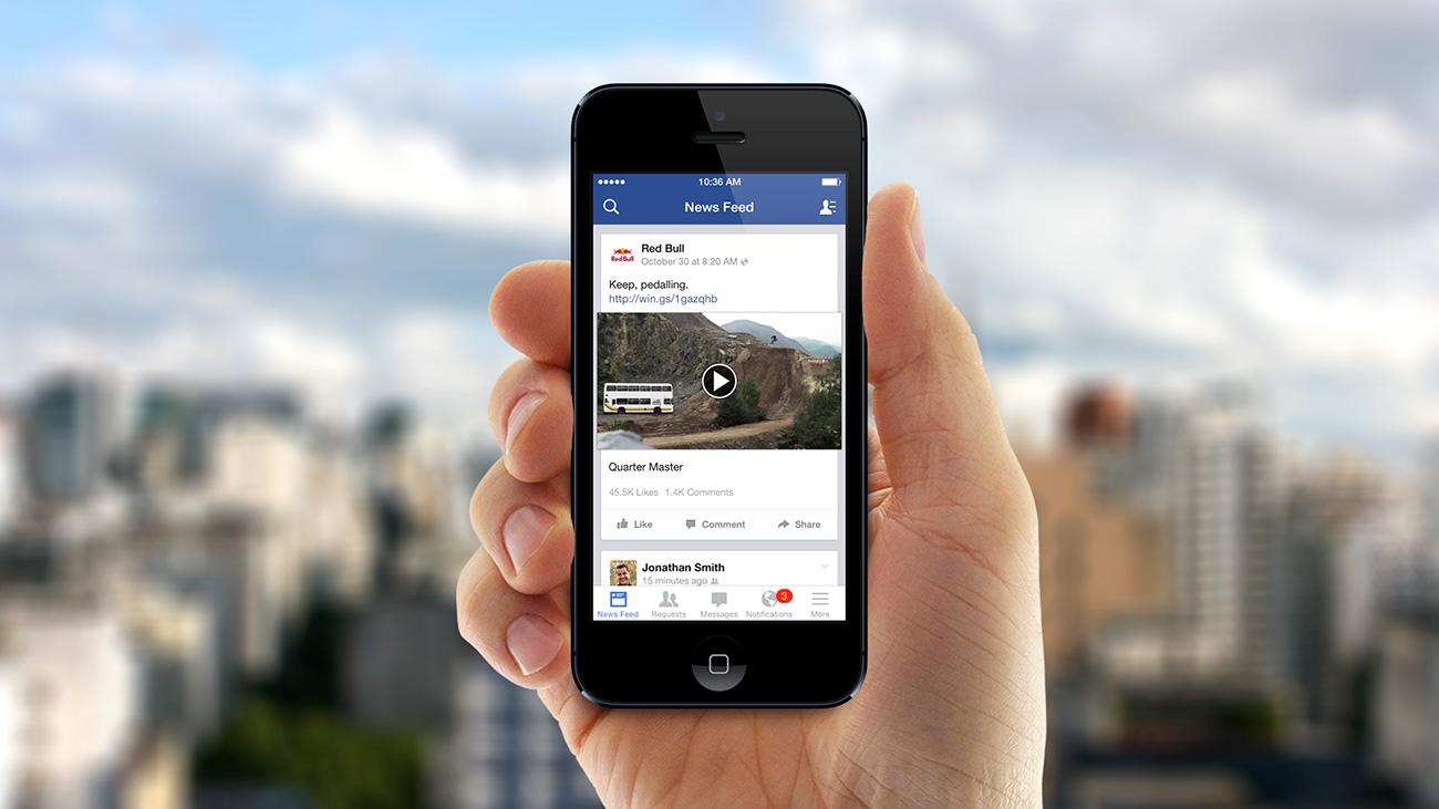 Facebook permet désormais de diffuser des publicités vidéo mid-roll pour tous les annonceurs