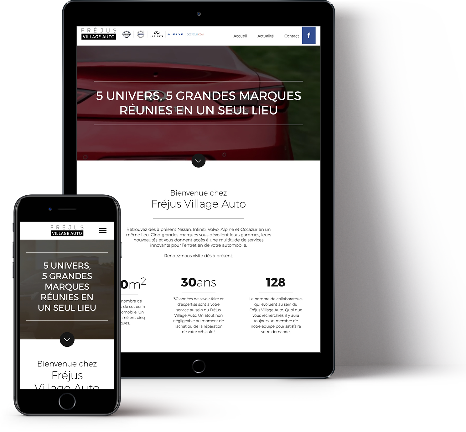 creation de site responsive design