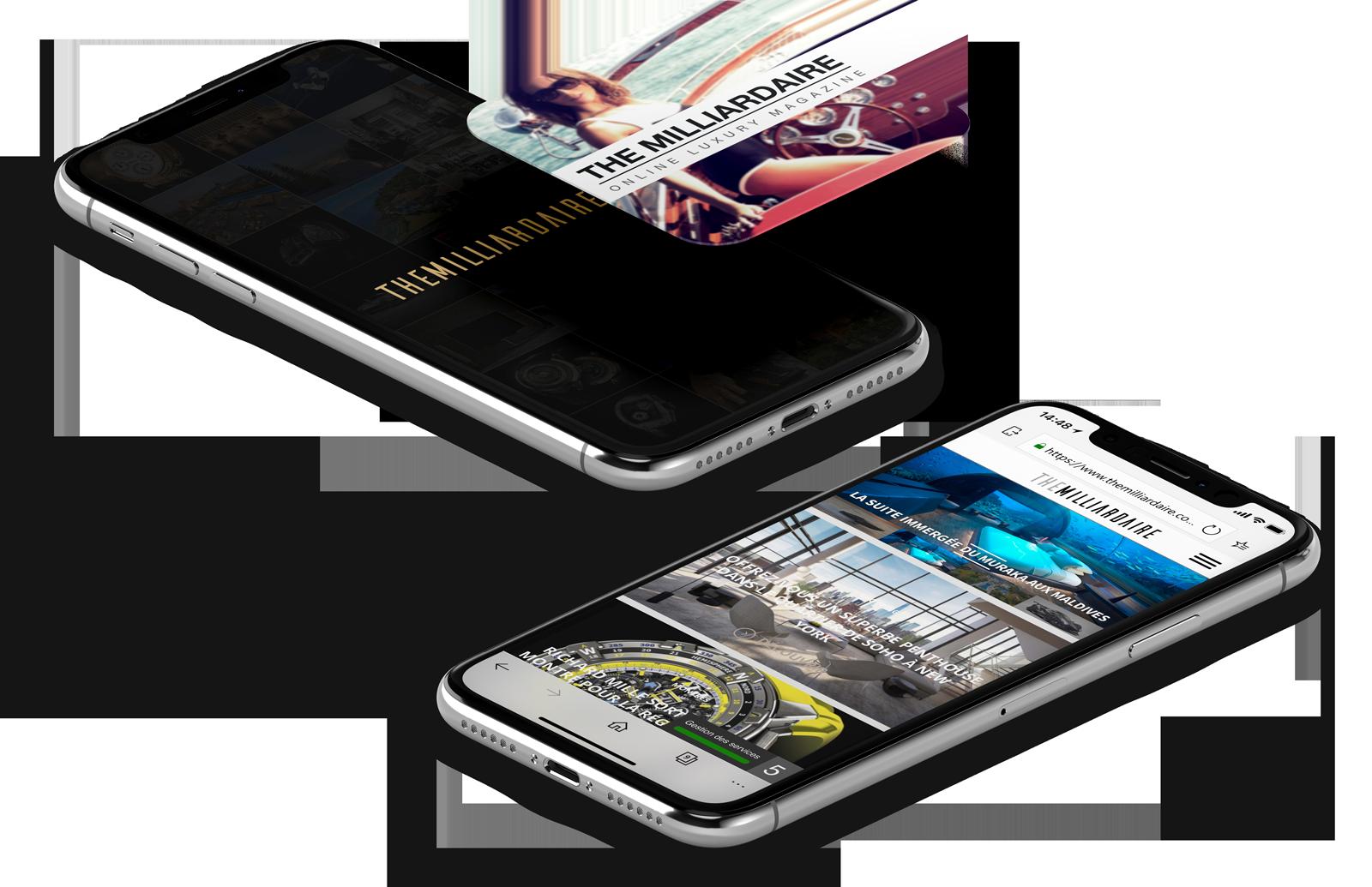 Site et application TheMilliardaire référence dans l'actualité de l'ultra-luxe en France