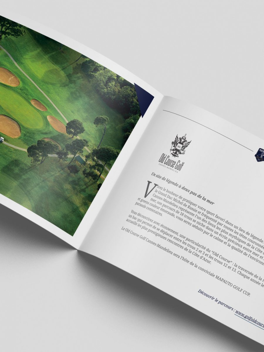 Brochure Mapauto Golf Cup 2018