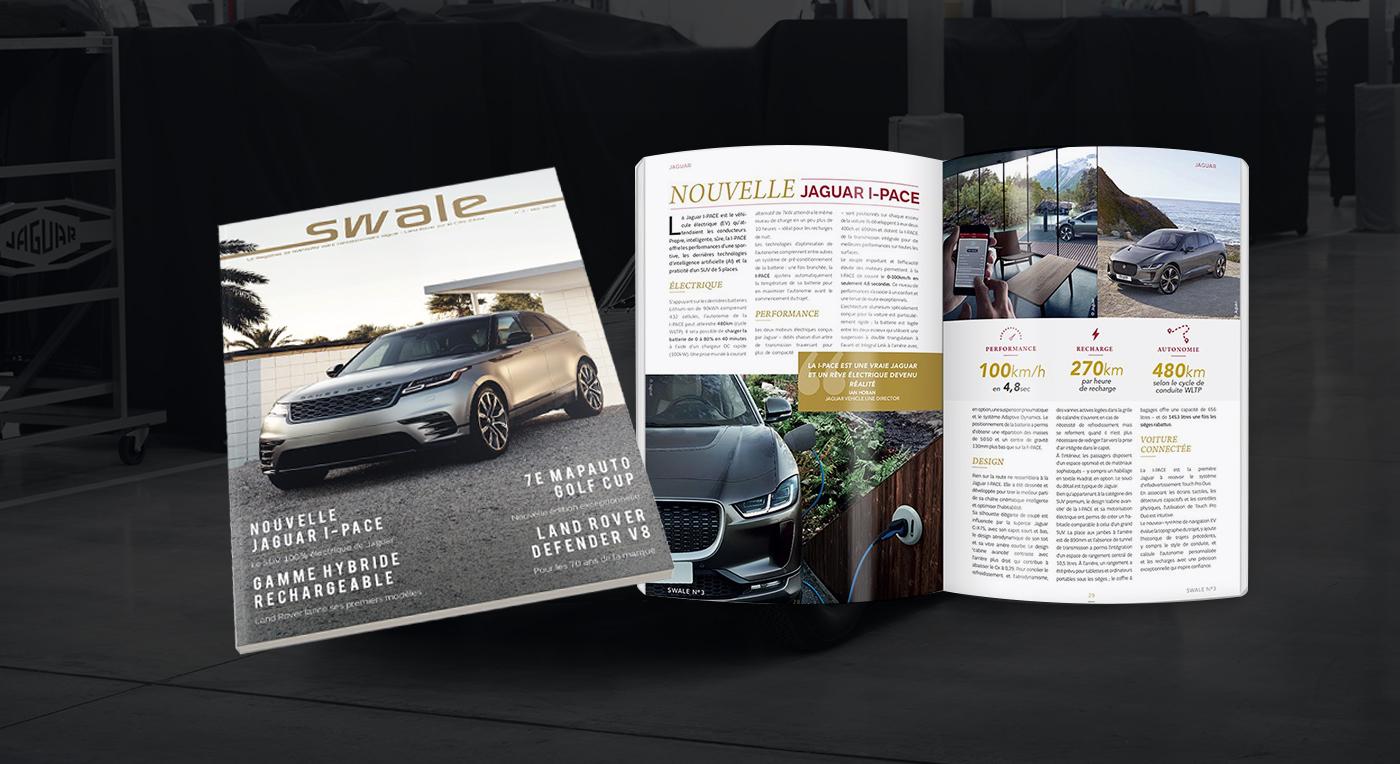 K Publishing édite le 3ème numéro de Swale, le magazine de Mapauto