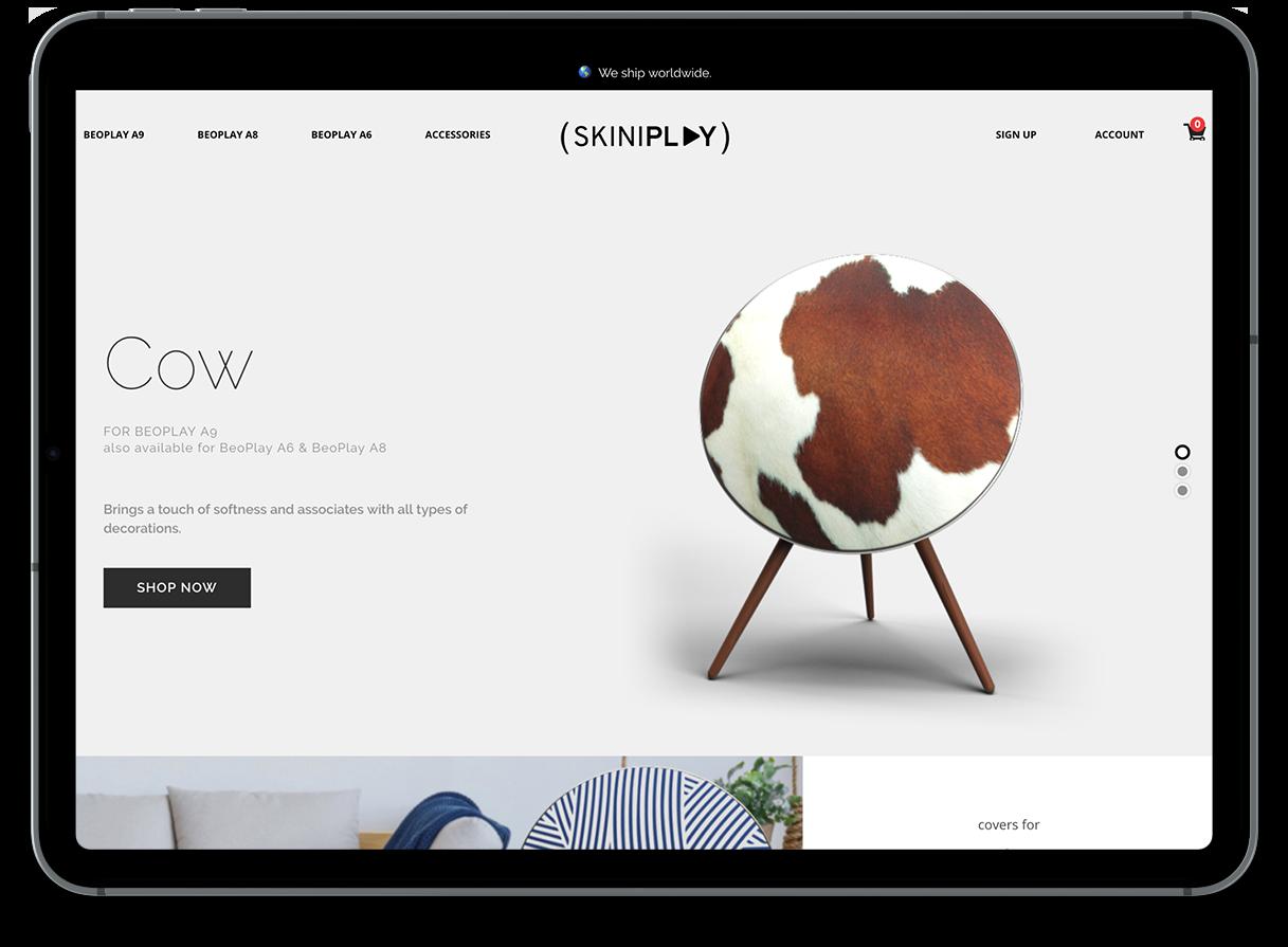 Site e-commerce Skiniplay.com
