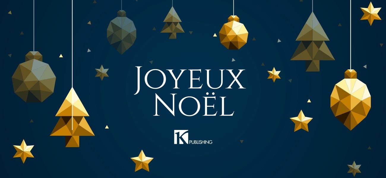 Kpublishing vous souhaite un joyeux Noël